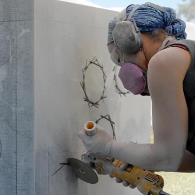 Per tagliare pietra e granito
