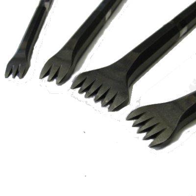 Utensili per scolpire in acciaio