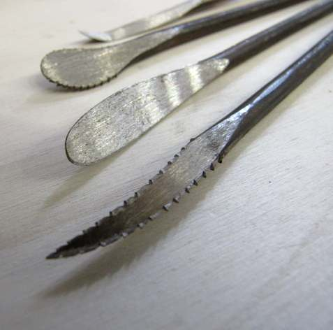 Raspe in acciaio forgiate Miroballi