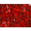 rosso Tessere smalti per mosaico miscela  n.32