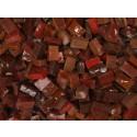 rosso scuro Tessere smalti per mosaico miscela  n.34