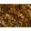 Marrone Tessere smalti per mosaico miscela  n.36