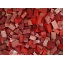 Rosa Tessere smalti per mosaico miscela  n.39