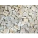 Bianco Tessere smalti per mosaico miscela  n.15