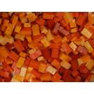 Arancione Tessere smalti per mosaico miscela  n.29