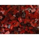 Rosso medio-scuro tessere smalti per mosaico miscela  n.33