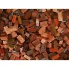 Rosa marrone Tessere smalti per mosaico miscela  n.35