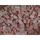 Tessere smalti per mosaico miscela  n.37 Rosa chiaro