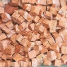 Tessere per mosaico rosso Alicante 5x5x5 mm. 100 gr.