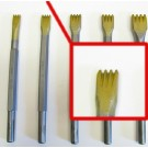 Gradina in widia da 15 mm.con 4 denti attacco 12,5