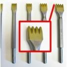 Gradina in widia da  30 mm.con 4 denti attacco 12,5