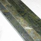 Listelli in pietra per mosaico 2x1 lungh.30 cm circa Verde  Karzai