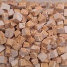 Tessere per mosaico Travertino Giallo 5x5x5 mm. 100 gr.