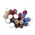 Murrine millefiori T05 Opache 5-6 mm (100 gr.) canne
