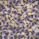 Miscela  Murrine millefiori Biancofiore 7-8 mm