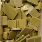 """Piastrone di smalti per mosaico """"Verde Militare"""" quantità limitata 100 gr."""