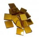 Tessere oro specchiato per mosaico 2x2 Cm