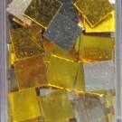 Tessere oro specchiato per mosaico 1x1 Cm