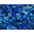 Blu Medio scuro tessere smalti per mosaico miscela  n.3