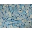Azzurro cielo Tessere smalti per mosaico miscela  n.5