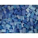 Blu Medio tessere smalti per mosaico miscela  n.2