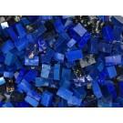 Blu scuro Tessere smalti per mosaico miscela  n.4