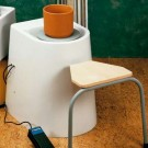 Torniello elettrico da studio con sedile