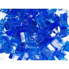 Mix n. 2 Blu tessere in vetro colorato per mosaico