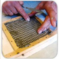 Colle, leganti e cemento per mosaico