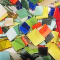 Tessere per mosaico vetro tiffany