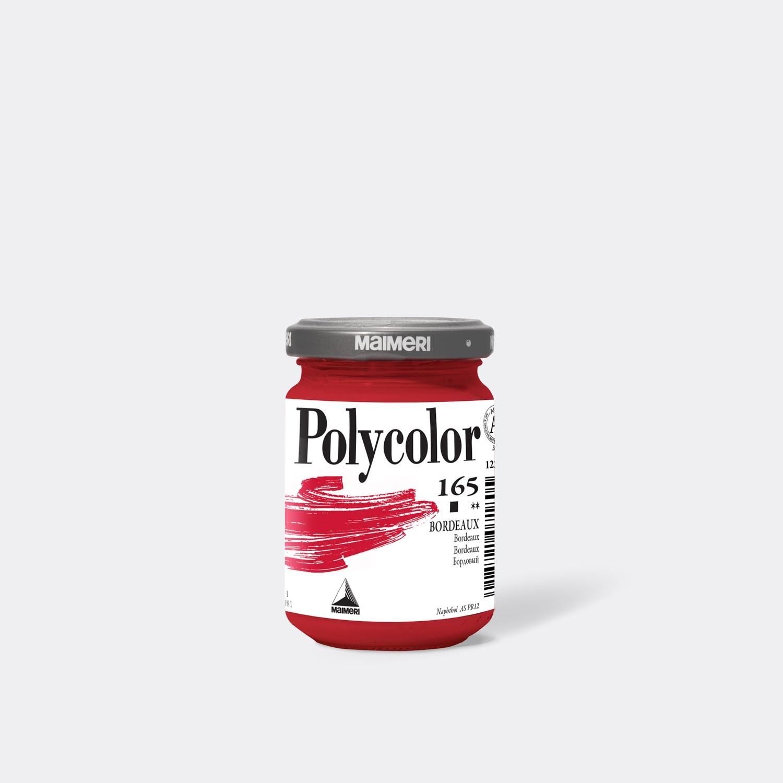 Colore acrilico Polycolor 165 Bordeaux 140 Ml.