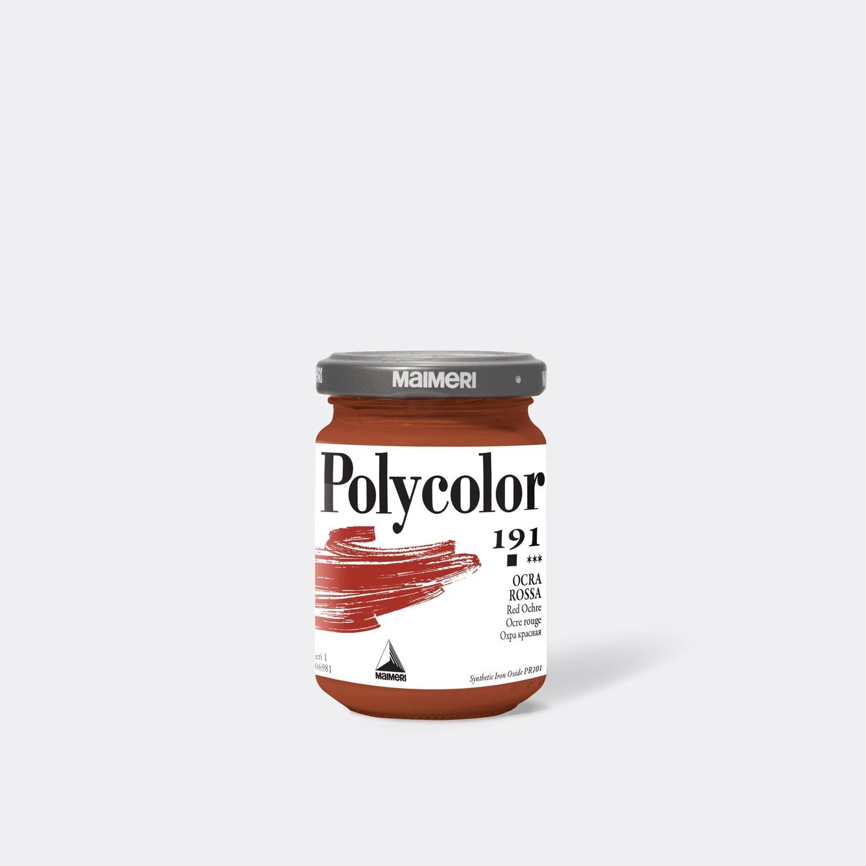 Colore acrilico Polycolor 191 Ocra rossa 140 Ml.