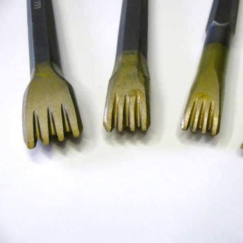Gradina in widia da 12 mm.con 4 denti attacco 12,5
