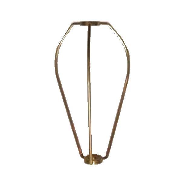 Arpa in ottone per lampada tiffany 10,5 Cm.