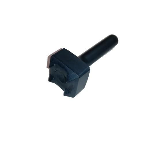 Bocciarda widia codulo corto 4 denti mm.30x30 attacco mm.12.5