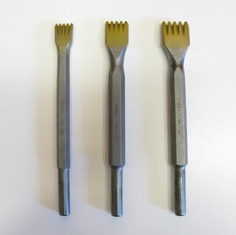 Gradina in widia da  25 mm.con  5 denti attacco 12,5