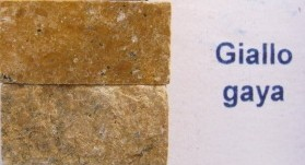 Tessere per mosaico Giallo Gaya kg.1