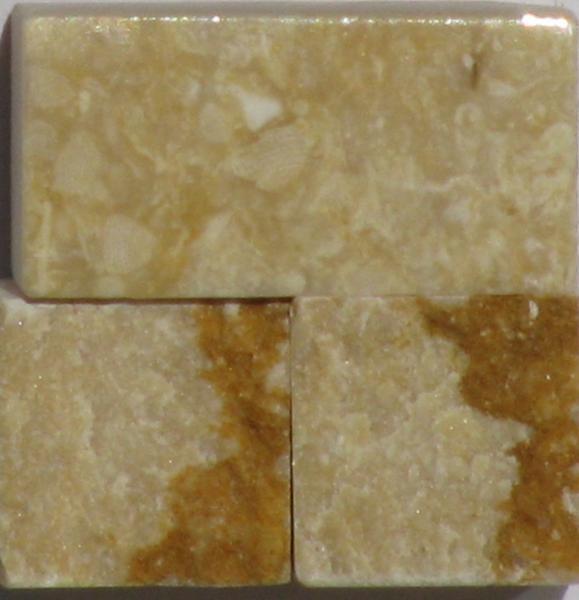 Tessere per mosaico Giallo Africano kg.1
