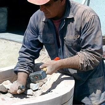 Mazzetta in acciaio quadra 1 kg. (2,6 lb.)