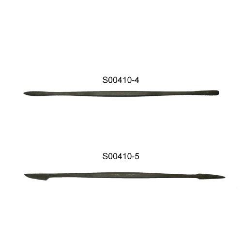 Micro raspa in acciaio forgiata a mano cod. S00410