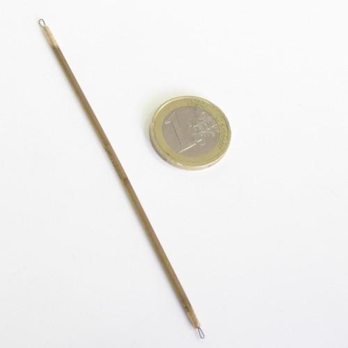 Mini miretta da 10,5 cm con corpo in bronzo - A