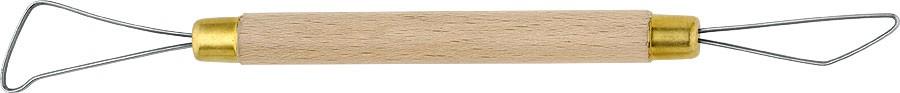 Miretta per argilla cod.  B2504  Lunghezza: 25 Cm.