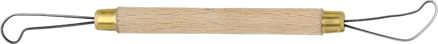 Miretta per argilla cod.   B2501  Lunghezza: 25 Cm.