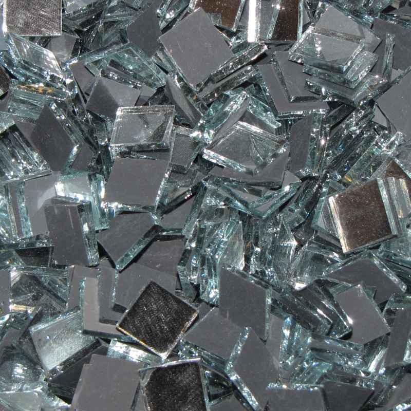 Tessere di specchio per mosaico 1x1 Cm
