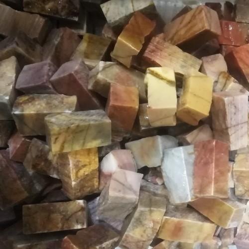 Tessere per mosaico Rosso Damasco kg.1