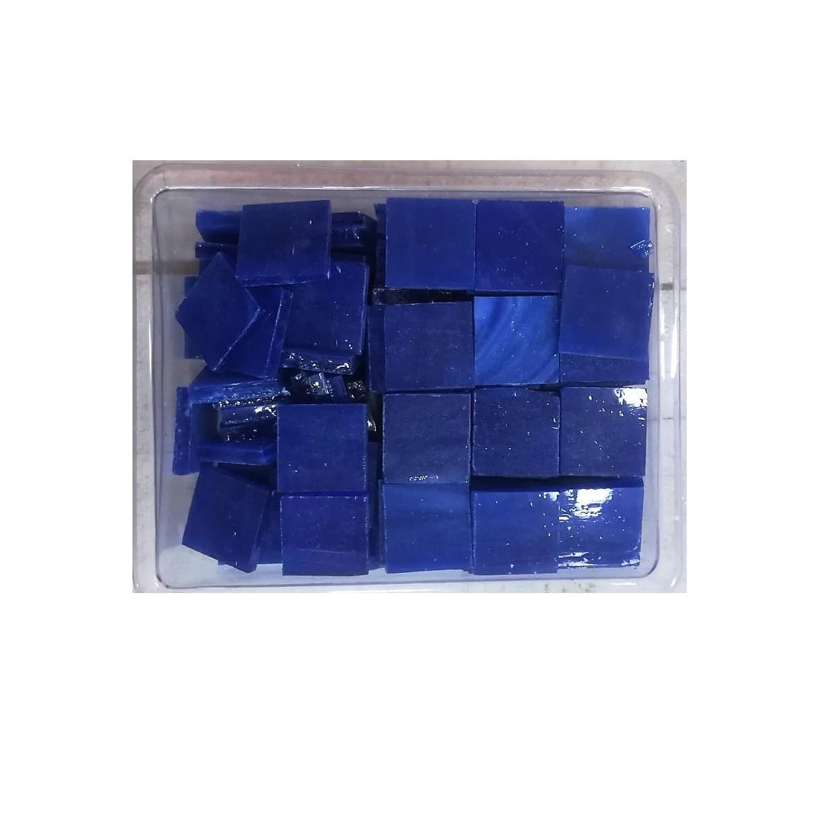 Tessere in vetro colorato per mosaico Blu opalescente
