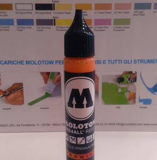 Molotow Ricarica One4all 30 Ml. Arancio 085