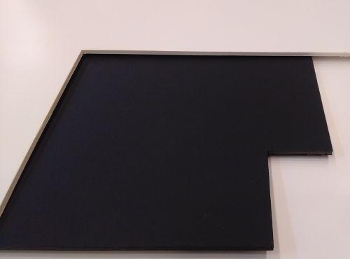 Pannello poliplat 50x70 spessore 10 mm. bianco