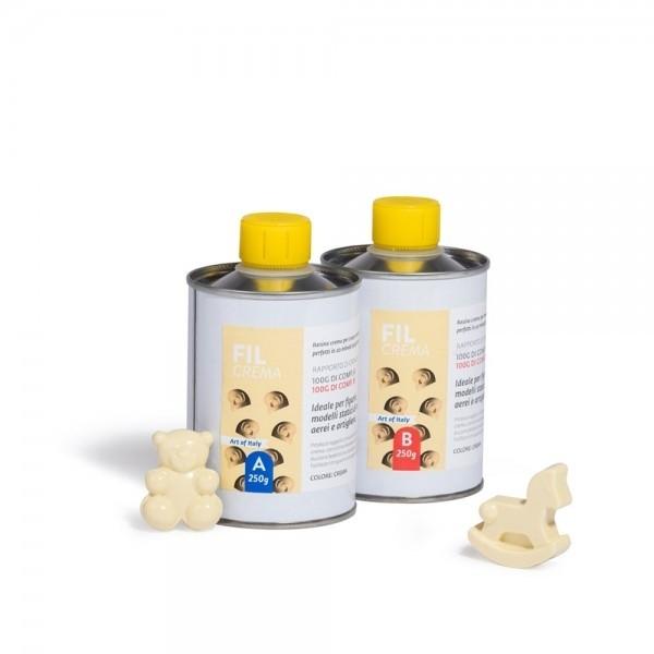 Resina poliuretanica 1:1 color grigio gr. 250