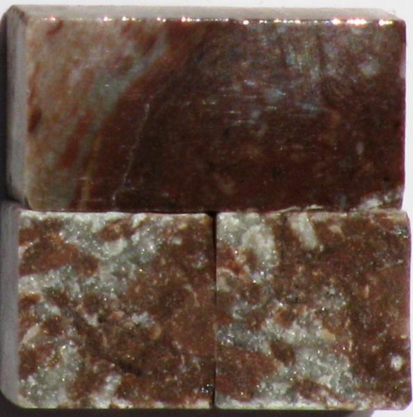 Tessere per mosaico Rosso fegato kg.1